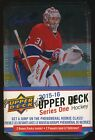 2015-16 Upper Deck Series 1 Hockey SEALED 12-pack TIN BOX Jumbo + 3 Young Guns!*