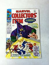MARVEL COLLECTORS ITEM CLASSICS #15 FANTASTIC FOUR, IRON MAN 1968, nice VF