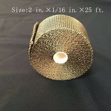 "Titanium Exhaust/Header Heat Wrap, 2"" x 25' Roll With Stainless Ties Kit"