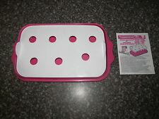 Fun Tupperware Pink Jello Animal Wigglers Set Mold Cookie Cutter Tray Container