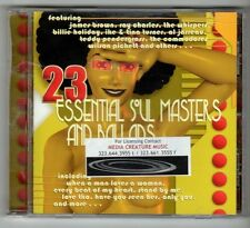 (GX901) 23 Essential Soul Masters & Ballads, various artists - 2001 CD