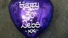 Personalised Helium Foil Balloon Birthday