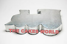 TRAIN ENGINE SHAPED PROFESSIONAL BIRTHDAY NOVELTY BAKING CAKE TIN PAN