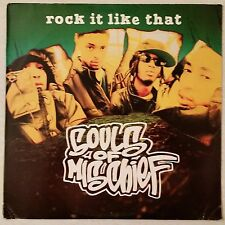 1995 - SOULS OF MISCHIEF - ROCK IT LIKE THAT / SHO FOR REAL - JIVE ORIGINAL
