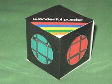 "Vintage ~ 1980s ~ WONDERFUL PUZZLER ~ 2.25"" NEW Rubik's RUBIKS CUBE Rubix TWIST"