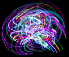 "Wild Rainbow 36"" LED Hula Hoop"