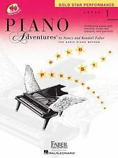 Level 1 - Gold Star Performance Book: Piano Adventures (Book & Online Audio) by