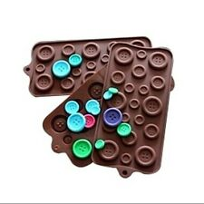 Silicone Button Mold Sweet Candy Jelly Chocolate Mould Decorating Baking Tool CA