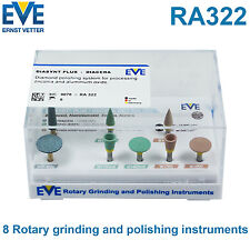 EVE Dental Diasynt Diacera RA322 8 Polisher Set For Zirconia Ceramics