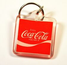Enjoy Coca-Cola USA Acryl Schlüsselanhänger Key Chain Coke