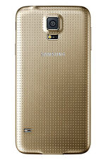 Original Samsung Galaxy S5 SM-G900F Cover Case Akkudeckel Akkufachdeckel Gold