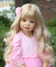 NWT RARE Masterpiece Dolls Coco Blonde GREEN Eyes By Monika Levenig 39""