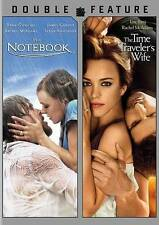 THE NOTEBOOK/THE TIME TRAVELER'S WIFE DOUBLE FEATURE DVD  (D221)