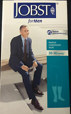 Jobst Black Firm Compression Knee High Sock Closed Toe 20-30 mmHg Size X-Large