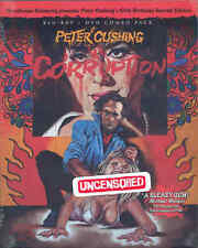 Corruption Blu Ray & DVD Grindhouse Releasing Peter Cushing