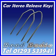 Car Stereo Release Keys Radio Removal Extraction Keys