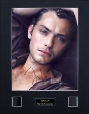Jude Law Signed Photo Film Cell Presentation