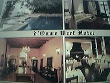 postcard unused d'ouwe werf hotel cape town africa