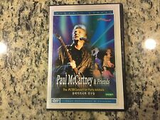 PAUL MCCARTNEY & FRIENDS THE PETA CONCERT FOR PARTY ANIMALS LIKE NEW KOREAN DVD