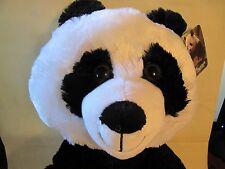 """PANDA BEAR 16 """" LARGE STUFFED PLUSH SOFT BRAND NEW WITH TAGS"""