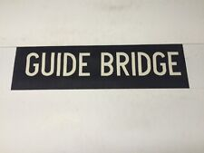 "Ashton Under Lyne 1966 Linen Bus Blind 28""- Guide Bridge"