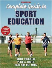 Complete Guide to Sport Education With Online Resources-2nd Edition, Van Der Mar