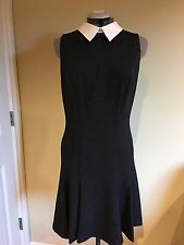 NWT Lauren Ralph Lauren Jacquard Collared Flare  Dress Size 10