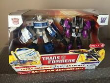 Hasbro Transformers Classics Ultra Magnus vs Skywarp RARE Target Exclusive MISB