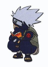 **License** Naruto SD Kakashi Reading Iron On Patch #7161