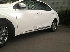 Toyota ALTIS Corolla 2014 outside door body side molding chrome lower