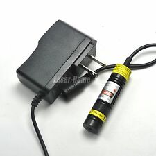 Focusable 650nm 50mW 5V Red Laser Dot Module Mitsubishi Diode 16x68mm w/Adapter