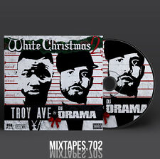 Troy Ave - White Christmas 2 Mixtape (Artwork CD/Front/Back Cover)