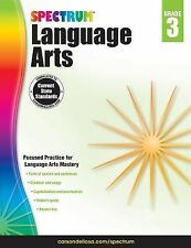 Spectrum Language Arts, Grade 3 (2014, Paperback)