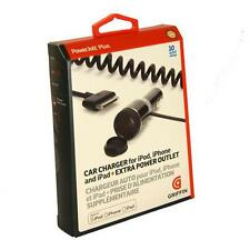 Griffin PowerJolt Plus Car Charger For iPad 2 3 4 , iPhone 4S Black 30 pin 2.1A
