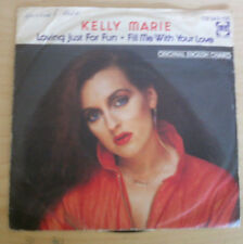 KELLY MARIE 7 inch Single LOVING JUST FOR FUN (1980)    °1b