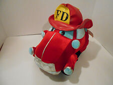 Classic Toy Company  / Fire truck  Plush   Clean  ADORABLE!   b