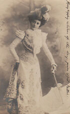 Lady Claims That Without Her Nothing Gets Done Antique Postcard