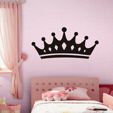 Crown Vinyl Wall Sticker Kids Bedroom Decorative Art Decal Home Removable Decor