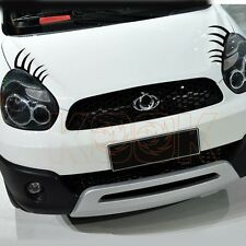 Headlight Car eyelashes sticker Decal for Chery Q3 BMW Mini VW eyelash 20cm