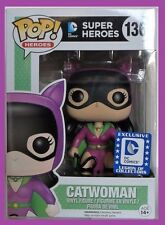 FUNKO POP CATWOMAN BATMAN VILLAINS DC Legion of Collectors EXCLUSIVE #136 NMIB
