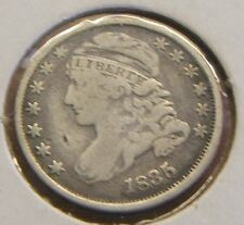 1835 Capped Bust Dime~Silver Key Date in F-Vf
