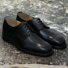 NEW Grenson Black 'Sterling' High Shine Shoes - Size 6 GENUINE RRP: £165 BNIB