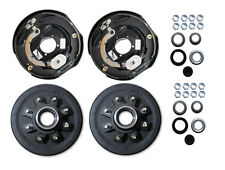 Add Brakes Trailer axle rebuild kit 8 lug Electric brake 5200 6000 7000# axel 12