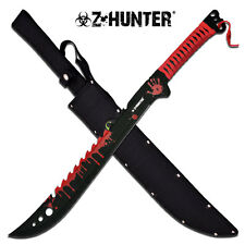 Z-Hunter Red Cord Wrapped Zombie Hunter Stainless Steel Machete #124RD