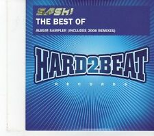 (FT838) Sash, The Best Of Sampler - 2008 DJ CD