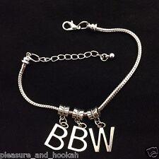 """Sexy""""BBW"""" Anklet Big Beautiful Women Hotwife Swinger Lifestyle QOS Jewelry 5"""