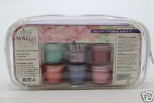 EzFlow Design Colored Acrylic WATER COLORS Powders # 60221
