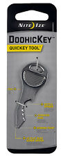 Nite Ize Doohickey Quickey Tool Silver Key Tools Stainless Steel KMTQK-11-R3 NEW