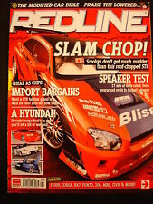 Redline Mag Apr 2006 s2000, corsa, rx7, punto, 206, civic, mini.import bargains