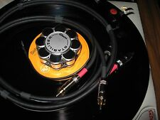 SME TONEARM INTERCONNECT RCA CABLE wGnd 6FT Thorens Garrard Technics Project